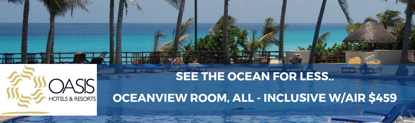 Oceanview Room, All - Inclusive w/Air $459